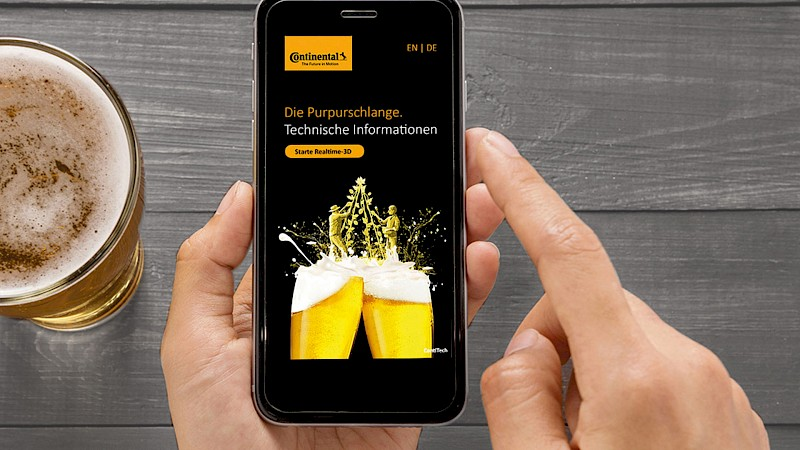 Outbound-Kampagne 500 Jahre Reinheitsgebot - Continental ContiTech AG